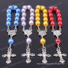 Factory Directly, Multi-Colored Plastic Beads Ladder Rosary Chaplet