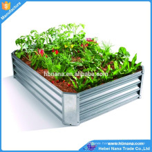 American design large garden pots / Galvanized garden raised bed for Australia