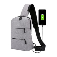 New Large-Capacity Chest Bag Outdoor Leisure Multi-Purpose Sling Bag