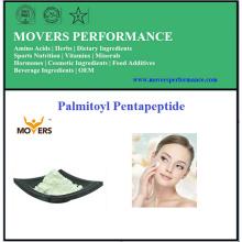 Pentapeptide de palmitoyle de peptide cosmétique à haute pureté