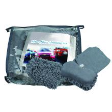 Conjunto de limpeza de carro / kit de microfibra para carro / conjunto de lavagem de carro