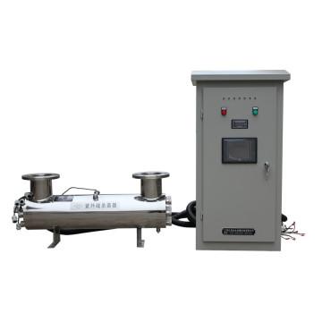 Désinfection UV des stations de traitement des eaux usées et de réutilisation de l'eau
