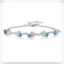 Jóia de cristal da forma do bracelete 925 jóia da prata esterlina (SL0092)
