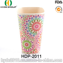 2016 New Product Pretty Bamboo Fiber Cup (HDP-2011)