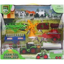 Набор игрушек для фермеров с инерцией инерции 22 шт.