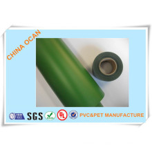 Plastic Rigid Green PVC Roll for Artificial Christmas Tree Leaves From Senior Supplier