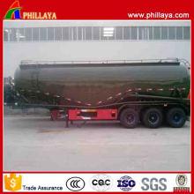 30-68m3 Optional Tri Achsen Low Cost Pulver Tanker Trailer