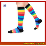 Compression Socks (Fun Patterns 20-30mmHg) Men & Women Running Casual Socks--ZP01185