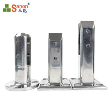 Black series 1 New Year's Day hot sale of stainless steel pool column balcony short foot column sanding or mirror export quality