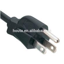 PSE enchufe Cable de alimentación de PVC Cable de tierra de Japón