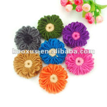 handmade crochet knitted flower