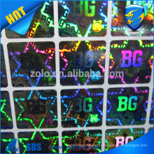 China Supply Cheap Hologram Stickers of Custom Design, High Quality Laser Print Holographic Sticker