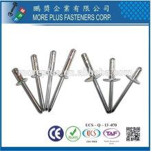Rivets blancs en aluminium ouverts Multi-Grip en Taiwan