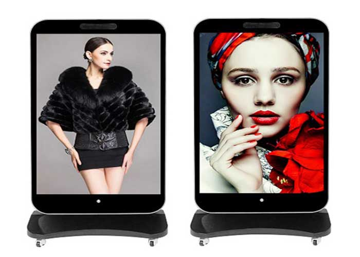 Iposter led mirror display