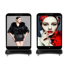 Best quality and factory for Led Stand Poster High Brightness Low Power Consumption Mirror Screen export to United States Wholesale