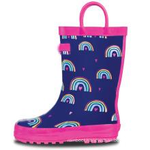 2020 New Fashion High Quality Cheap Rain Boots England Steel Toe Rain Boots Pvc Rain Boot for Kids