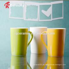 China barata uso diario taza de cerámica de 320 ml
