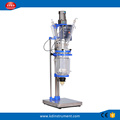 1L/2L/3L double layer ex-proof jacketed mini glass reactor