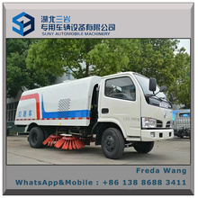 Road Cleaning Truck 5cbm Road Sweeper Truck for Sale