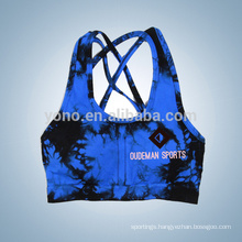 Colorful finess women running yoga bra with new design