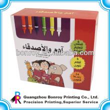 Wiederverwendbare und luxuriöse Farbstift-Kartonverpackung