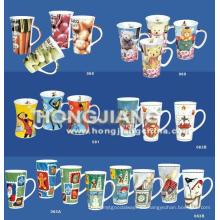 Taza de porcelana (hj001343338)