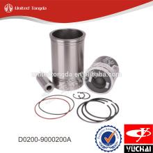 Yuchai cylinder liner kit D0200-9000200A* for YC4D