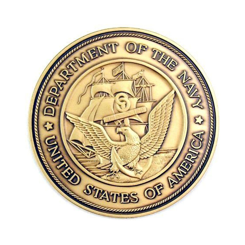 Military Seal Coin