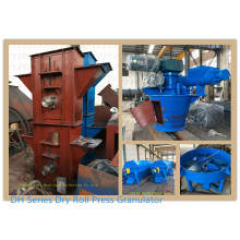 Dry powders are granulated directly, granulation machine for compound fertilizer