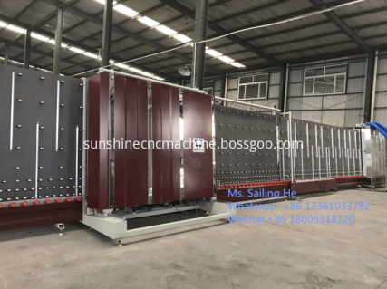 Curtain wall insulating glass production line