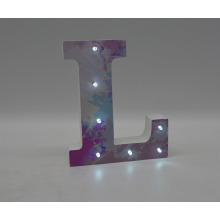 Hoilday Decoration MDF LED Light for Home