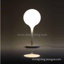 hot sale modern glass shade table lamps bedside desk lights