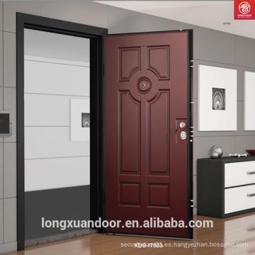 Puerta de acero, Puerta de acero exterior de acero usado, Puerta blindada de acero de seguridad en las ventas