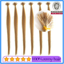 New Arrival Top Quality Real Keratin Human Hair Virgin Hair Special I Tip Hair Extension Remy Hair