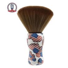 Barber Shop Plastic Handle Neck Brush Styling Tool Brush