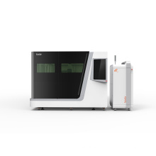 Euro standard cnc machine fiber laser cutting machines two table for metal