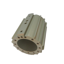 OEM custom cnc machined aluminum hard anodizing 7075 housing for high pressure