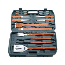 Barbecue Wood Handle Tool Set