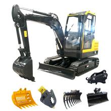 KOSTENLOSER VERSAND!!! Der Minibagger bietet Leistung und Leistung in einer kompakten Größe, damit Sie in einem weiten Bereich arbeiten können.