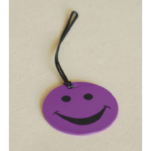 custom Smile luggage tag
