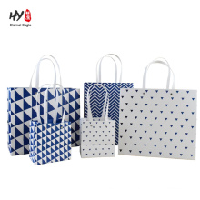 Custom printed tote shopping gift package bag