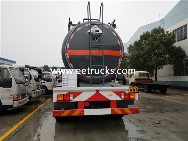 20 CBM Sulfuric Acid Transportion Trailers