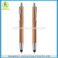 Benutzerdefinierte Werbe Bamboo Pen mit Touch Stift