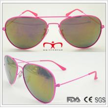 2015 Gafas de sol de moda para la señora Nuevos vidrios de sol vendedores calientes coloridos (MSP7-6)