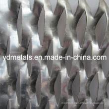 Eloxiertes Aluminium-Streckblech
