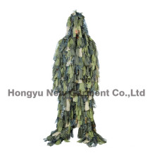 Camouflage Clothing Leaf Ghillie Suit for Wargame Use (HY-C007)