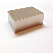 Aimant permanent de gros bloc avec fort magnétique