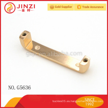 Arco decorativo para el hardware de la aleación del cinc del bolso suministra