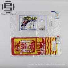 Sacs faits sur commande d'emballage de pain en plastique imprimé