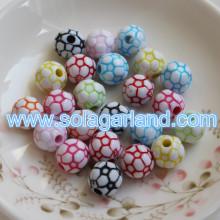 6-20 мм акриловые пластиковые CCB металлизированной круглые коренастый шарики прелести